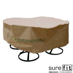 sure fit patio furniture covers. Sure Fit Original Round Table/ Chair Set Cover Patio Furniture Covers C
