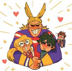 Melissa and Izuku should totally become a hero team, just like her dad and All Might were. Kirishima Eijirou, Studio Ghibli, My Hero Academia Shouto, Chibi, Boku No Hero Academy, Anime Ships, Me Me Me Anime, Cool Drawings, Geek Culture