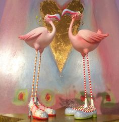 Happy 'Heart' Day is just a few days away... Feel the Flamingo love! #xo