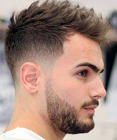 Blended fade haircut for men