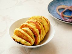 "Okara Pancake is made of okara filtered from soy milk. ""Recipe: how to cook Chinese food, Okara Pancake"" is published by Panda Cheffy. Okara Recipes, Cooking Chinese Food, Pepper Powder, Asian Recipes, Ethnic Recipes, Soy Milk, Food Court, Cooking Oil, Meal Prep"