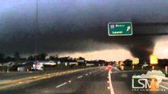 Hattiesburg Tornado RAW - John Sibley 2/10/13, via YouTube.
