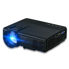 """""""Features & Benefits"""" Video Projectors,2017 Updated Dinlly Mini LED LCD Projector FULL HD Digital Portable Home Theater Multimedia Projectors Support HD 1080P PC USB HDMI AV VGA,DQ5B"""