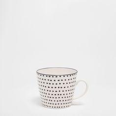 Bild 1 des Produktes Mug aus Porzellan mit unregelmäßigen Tupfen