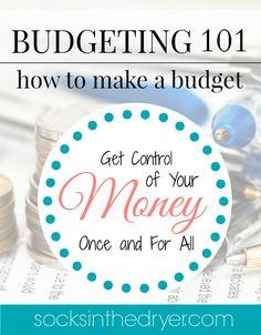 Budget ideas when yo