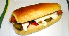 Hot-dog kifli recept