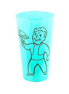 Fallout Vault Boy 16 Oz Pint Glass,