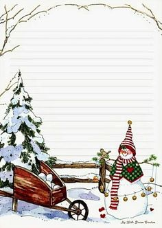 papiers a lettres, papers Plus Christmas Writing, Christmas Frames, Noel Christmas, Christmas Paper, All Things Christmas, Christmas Cards, Paper Decorations, Christmas Decorations, To Do Planner