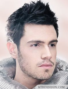 Cool Spikes Hairstyle For Short Hairs for Men 2015