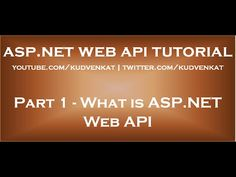 Let's know about web API in asp.net…http://www.mol-tech.com