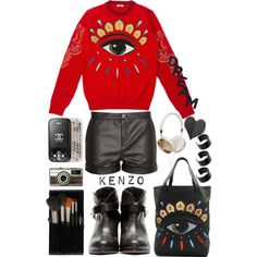 """Get Graphic #PolyvoreOOTD"" by helenevlacho on Polyvore"