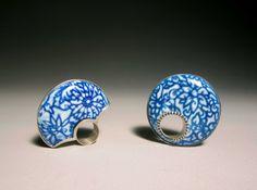 Heng Lee on Crafthaus - beautiful enameled rings!