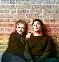 One of my absolute favourite pic of #melissamcbride and #normanreedus! You're so beautiful together ❤