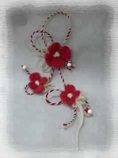 Macrame Bracelet Patterns, Macrame Bracelets, Baba Marta, Bulgaria, Diy And Crafts, Projects To Try, Felt, Brooch, Handmade
