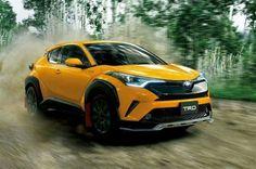 Toyota CHR Yellow TRD