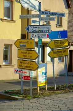Fancy Been in every one if the little towns on those signs But where is Neuendettelsau
