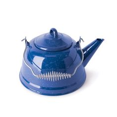 Blue Cast Iron Tea Kettle to feed our tea addiction and breakup the grey color scheme. #LGLimitlessDesign #Contest