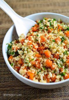 Paleo Roasted Butternut Squash Cauli Rice Recipe plus 24 more Paleo butternut squash recipes