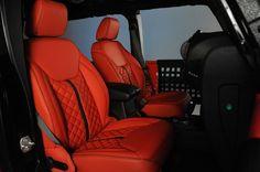 2014 Jeep Wrangler Unlimited SEMA Build: Interior View