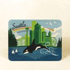 Portland Rose Wood Postcard Eco-Friendly Fine Art