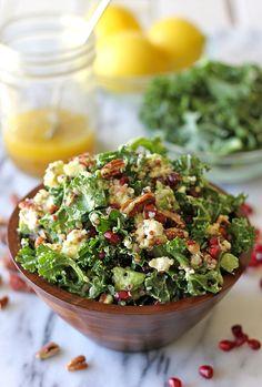 ローラも大好き♡話題のスーパーフード、ケールで作るサラダレシピ ... ケールのレモンビネグレットサラダ