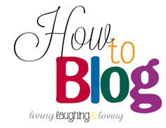 Here's a few tips on how to blog written by a successful blogger.