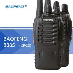2 adet baofeng bf-888s walkie talkie baofeng 888 s cb radyo 16ch 5 w uhf 400-470 mhz taşınabilir el radyo avcılık radyo için