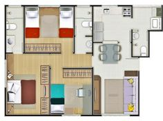 Apartamentos decorados – Comprando na planta (cuidados)