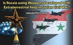 Verwendet Russland im Syrienkrieg Waffen die mit außerirdischer Hilfe entwickelt wurden?