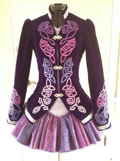 **Taoknitter Arts**Irish Dance Solo Dress Costume**
