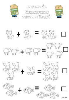#Okul öncesi, #matematik, #Toplama işlemi