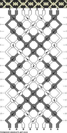 8 strings 16 rows 2 colors