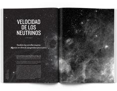 Jot Down, Contemporary Culture Mag by relajaelcoco. In this layout the image expands across the double spread, yet allows for legibility of the text. The image bleeds over the edges of the page and visually captivating. Emphasis is placed on the right hand side of the page through the use of a higher contrast.