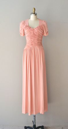 L'amour L'amour rayon jersey dress / vintage 1930s by DearGolden