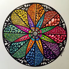 Zendala Colour Wheel; primary, secondary and complimentary colours. Samdala Original