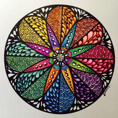 Zendala Colorean Rueda; Colores primarios, secundarios y Complementarios. Samdala Original