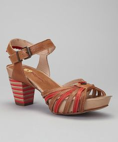 This Gold Button Camel & Coral Platform Sandal by Gold Button is perfect! Buy Shoes, Me Too Shoes, Cheap Shopping, Open Toe, Camel, Platform, Pairs, Sandals, My Style