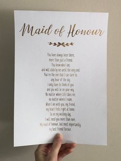 """After getting engaged, it's time to ask another big question: """"Will you be my maid of honor?"""" Shop the most creative maid of honor proposal ideas. Ways To Ask Bridesmaids, Will You Be My Bridesmaid Gifts, Bridesmaid Gift Boxes, Bridesmaid Proposal Gifts, Bridesmaids And Groomsmen, Wedding Bridesmaids, Bridesmaid Dresses, Bridesmaid Ideas, Cute Wedding Ideas"""