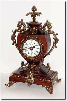 antique clock pictures  | Gustav Becker Antique Clock