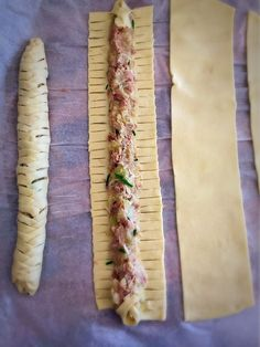 Small tuna braided puff pastry a family recipe Kristel s studio Easy Pasta Recipes, Appetizer Recipes, Cooking Recipes, Chicken Tender Recipes, Healthy Chicken Recipes, Salami Chips, Tapas, Healthy Food Alternatives, Easy Healthy Breakfast
