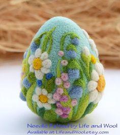 Needle Felt a Decorative Egg - Dauminion Metal and Fiber Crafts (Wilmington, NC) - Meetup