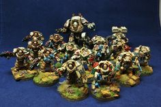 Deathwing Terminators and Dread nought by Wacca1664, via Flickr