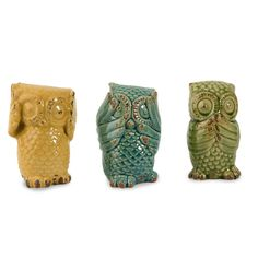 Cute! Set of 3 Wise Owls - Beyond the Rack