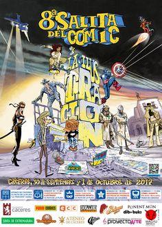 Programa de Actividades de la 8ª Salita del Cómic y la Ilustración de Cáceres