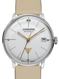 Junkers Lady Bauhaus 6073-5 Bauhaus Quartz Dress Watch