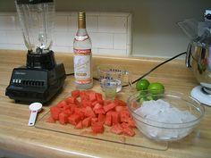 Watermelon-Vodka Slushlees,