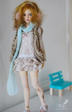 Winter set for Narae OOAK by tanyastyle on Etsy