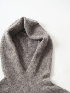 cashmere seamless parka