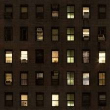 Texture Building Highrise High Rise New York Facade Night