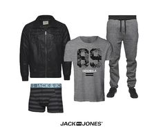 Move over white, it's time for BLACK & GREY instead! #fashion #men #outfit #jackandjonesme